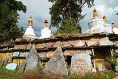 Buddhistickými stúpa — Stock fotografie