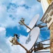 Satellite antenna — Stock Photo