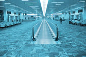 Airport's hall — Stock Photo