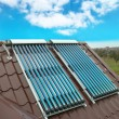 Vacuum solar water heating system — Stock Photo #7399550