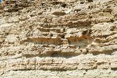 Tekstura skały z piaskowca. — Zdjęcie stockowe