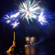 Salute, fireworks above Sevastopol bay. — Stock Photo #7723849