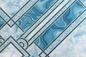 Blue marble pattern for backgrounds and textutes. — Stock Photo