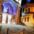 Stock Photo: Night view to Tbilisi Old town