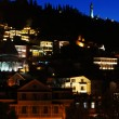 Tbilisi city in th night — Stock Photo