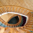 Stock Photo: Spiral staircase in Tbilisi