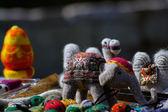 восточные camel игрушки на рынке тбилиси улица — Стоковое фото