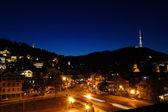 Th 夜のトビリシ市 — ストック写真