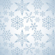 Christmas background with snowflakes pattern - Stock Vector
