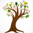Royalty-Free Stock Vector Image: Book tree vector ilustration