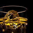 Whiskey on the rocks — Foto de Stock