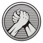 ������, ������: Arm wrestling icon