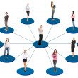 Stock Photo: Social network concept.