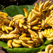 Bananas on a market — Stock Photo