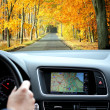 GPS navigation system - Stock Photo