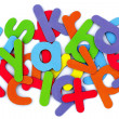 Colorful alphabet — Stock Photo #7620056