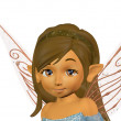 Fairy girl - Stock Photo