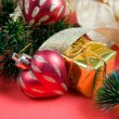 Christmas decor — Stockfoto #7412087