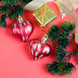 Christmas decor — Stock fotografie #7576352