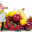 Stock Photo: WomChef