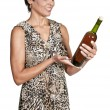 Royalty-Free Stock Photo: Woman with Wine