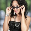 Woman in Sunglasses - Stock Photo
