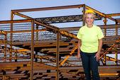 Female Construction Worker — Zdjęcie stockowe