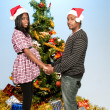 Expecting parents Black African American couple — Stock Photo #7891112