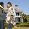 Black Man in trouble with his wife — Stock Photo #7891456