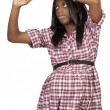 African American Pregnant Woman — Stock Photo
