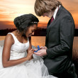 Marriage Proposal - Stockfoto