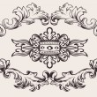 Royal Frame Decoration Vector - Stock Vector