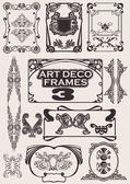 Set Of Art Deco Frames. Others In Portfolio. — Stock Vector
