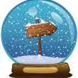 Stock Photo: Snow globe
