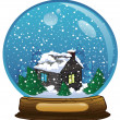 Stock Photo: Snowglobe