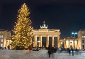 Berlin winter christmas — Stock Photo