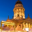 Stock Photo: Christmas market berlin gendarmenmarkt