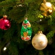 Christmas tree ornaments — Stock Photo
