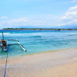 Gili Trawangan island, Indonesia - Stock Photo