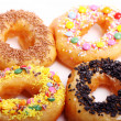 Tasty colorful donuts — Stock Photo #6763450