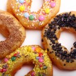 Tasty colorful donuts - Stockfoto