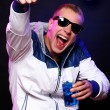 Young stylish guy in the nightclub — Stock Photo #6764131