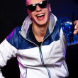Young stylish guy in the nightclub — Stock Photo #6764135