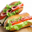 Fresh and tasty sandwich — Stock Photo #6882350