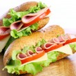 Fresh and tasty sandwich — Stock Photo #6882353