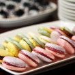 Close up of macarons dessert - Stock Photo