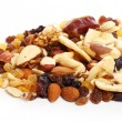 Stock Photo: Different dried fruits