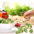 Stock Photo: Healthy food on the table