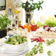 Healthy food on the table — Stockfoto