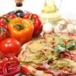 Fresh and tasty pizza — Stock Photo #7181853